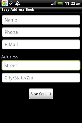 玩程式庫與試用程式App|Easy Address Book免費|APP試玩