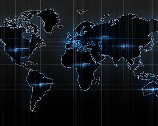 世界地圖壁紙