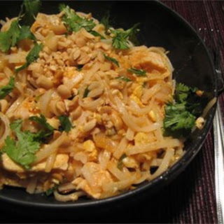 Shrimp Pad Thai.