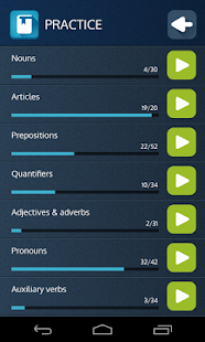 English Grammar Trainer- screenshot thumbnail