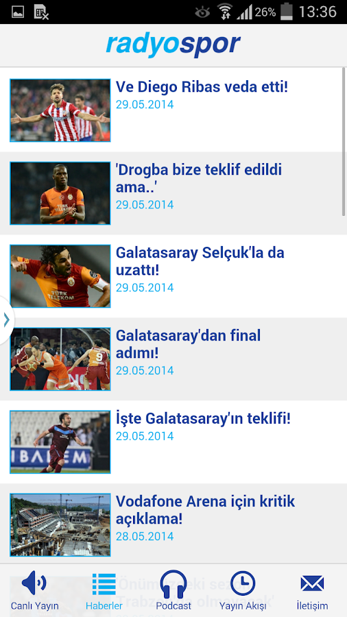 Radyo Spor- screenshot