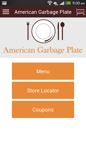 American Garbage Plate