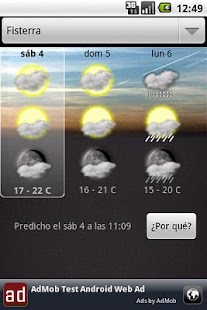 OTempo - Galician weather- screenshot thumbnail