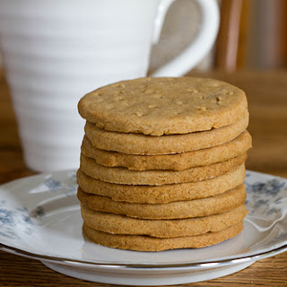 Digestive Biscuits, Aka Whole Wheat Shortbread