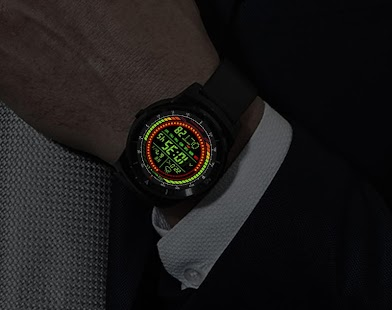 F02 WatchFace for Android Wear - náhled