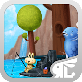 Fishing Bunny 3D Live Theme