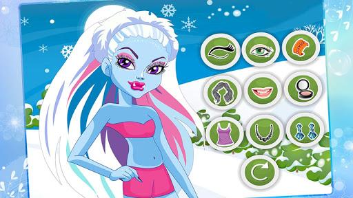Monster Girl Christmas Dress