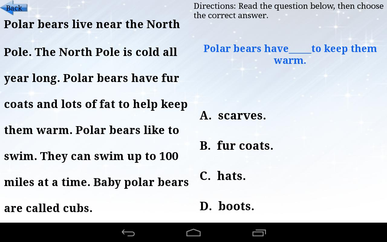 Worksheet Comprehension Passages For Children kids reading comprehension 1 android apps on google play screenshot