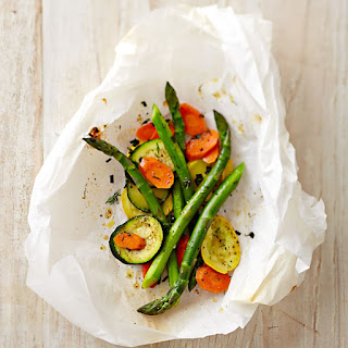 Herbed Vegetables en Papillote