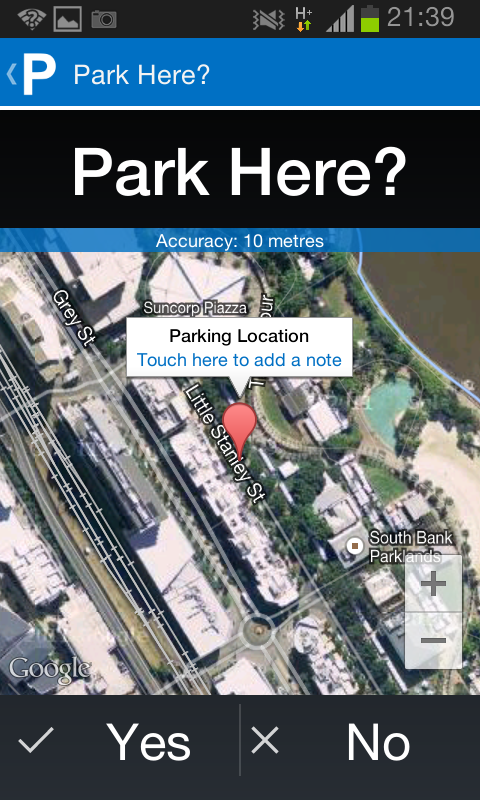 WheresMyCar: Find Your Car- screenshot