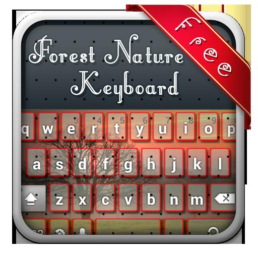 森林自然主题键盘 個人化 App LOGO-APP試玩
