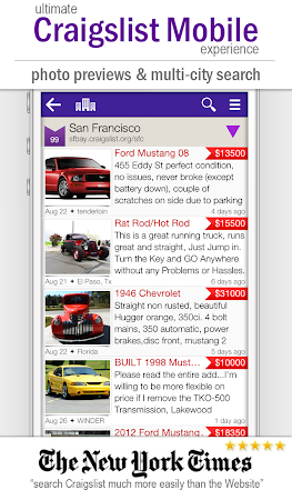 cPro+ Craigslist Mobile Client 3.24 screenshot 550841