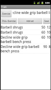 Bodybuilding & Fitness Diary - screenshot thumbnail