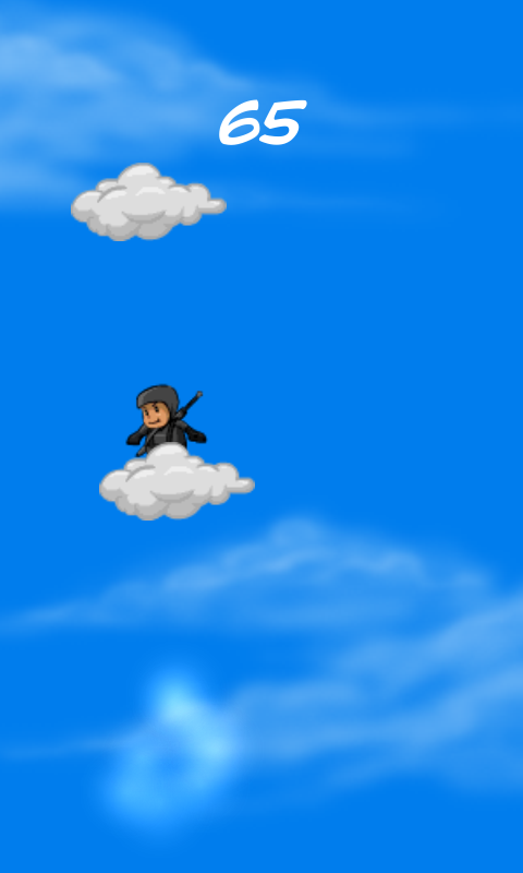 Jumping Little Ninja Android- screenshot