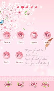 CUKI Theme Cherry Blossoms