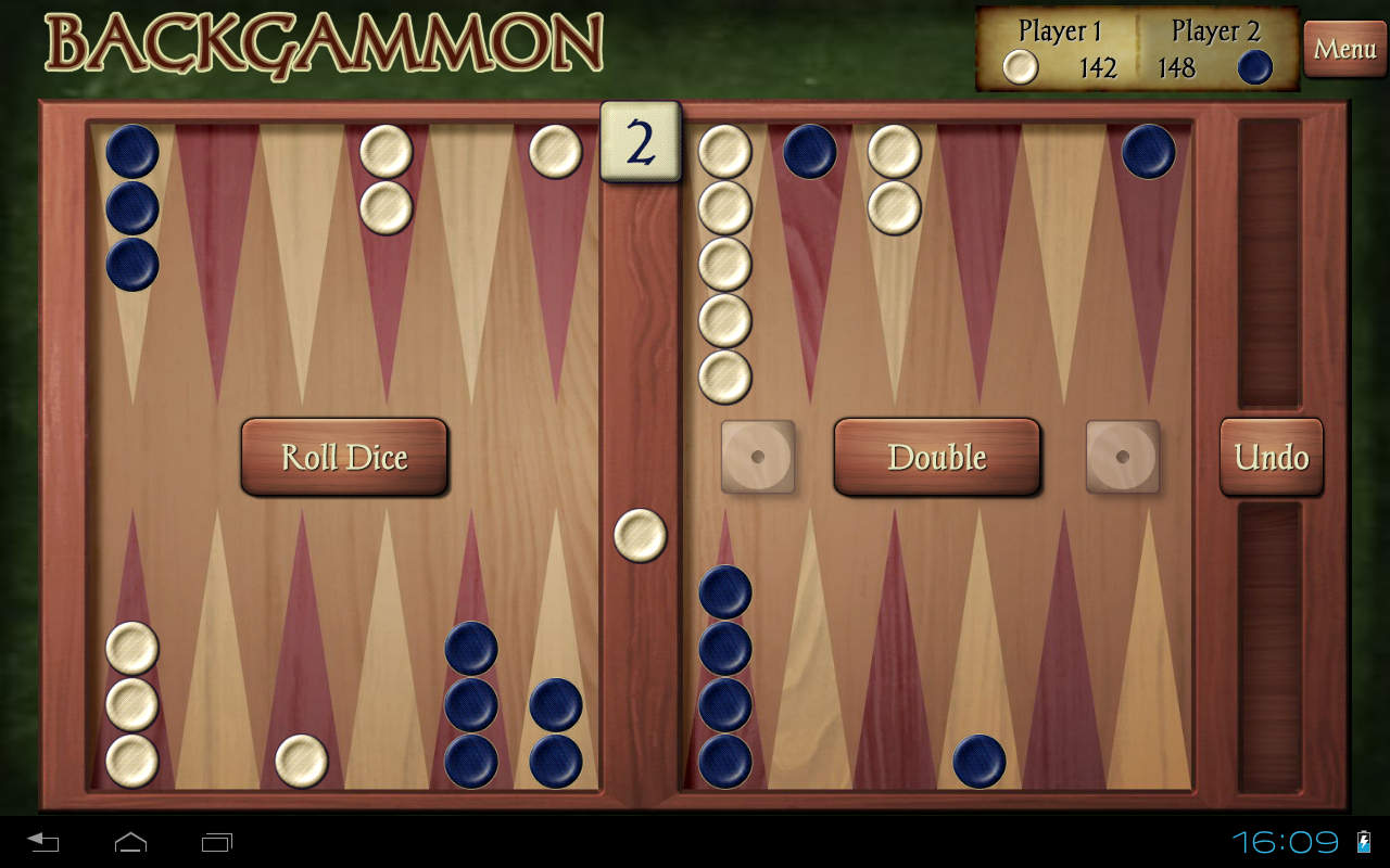 Internet Backgammon Game