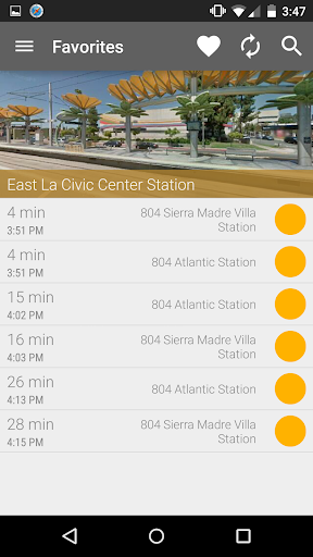 Los Angeles Metro and Bus