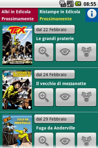 Albi in Edicola - screenshot
