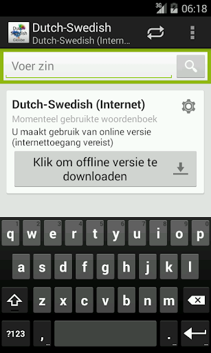 Dutch-Swedish Woordenboek
