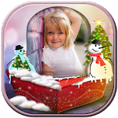 Snow Globe Photo Frame