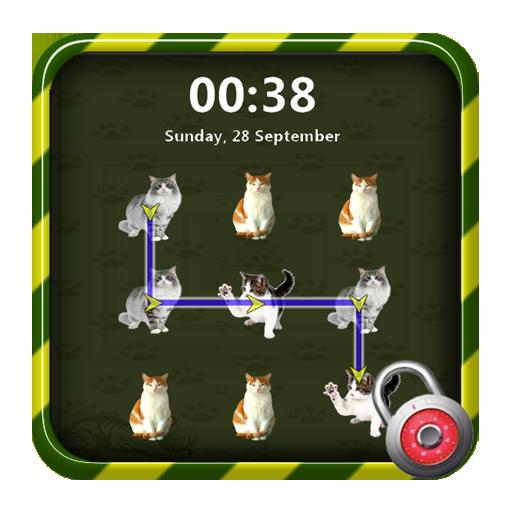 圖案貓鎖屏 生活 App LOGO-APP開箱王
