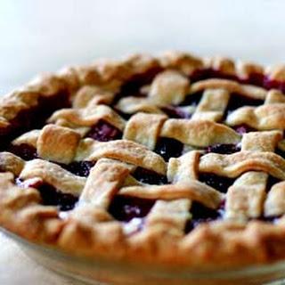 Rhubarb Berry Pie.
