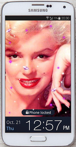 Retro Marilyn live wallpaper
