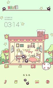 Small home dodollauncher theme