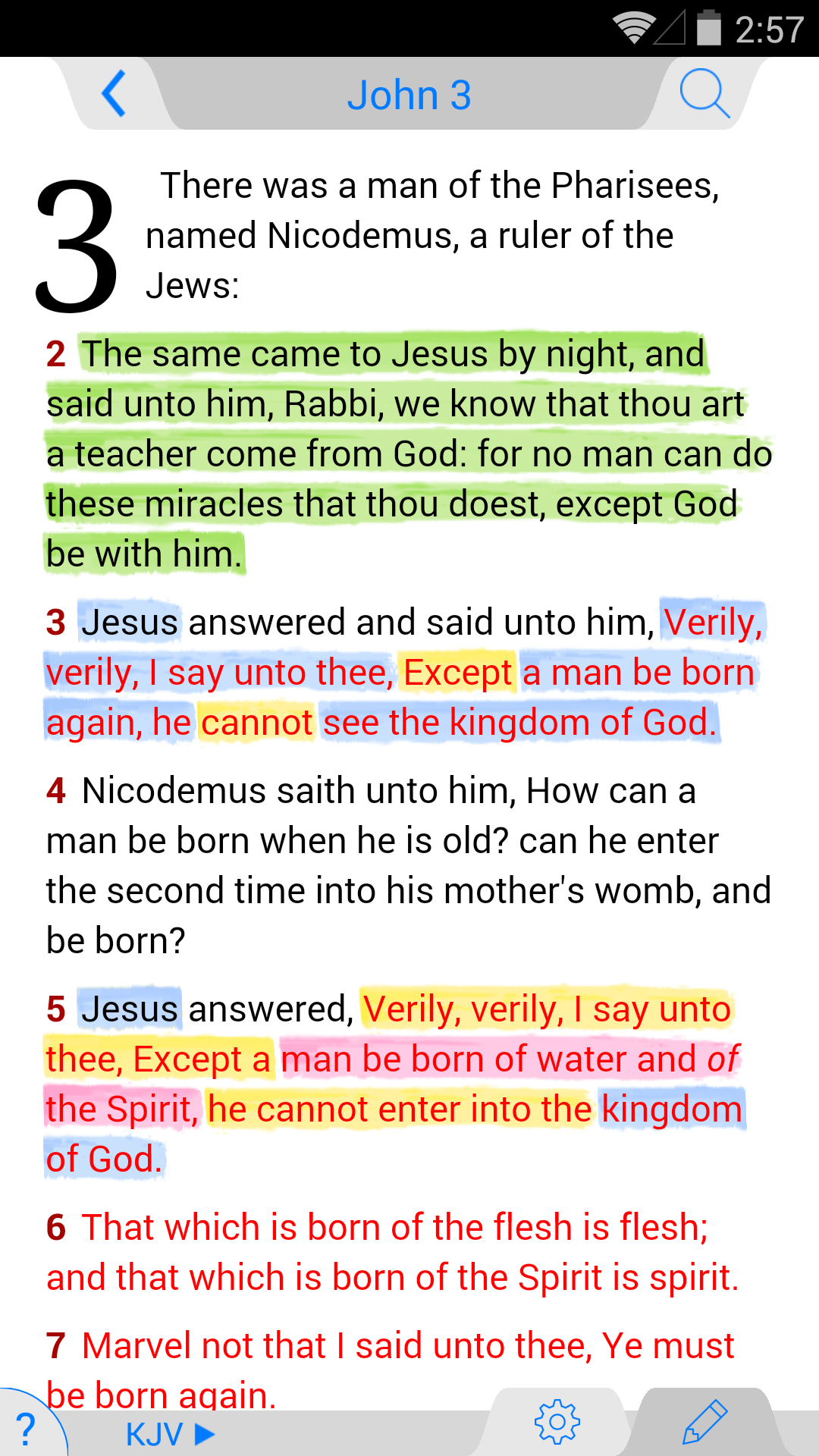 ESV Bible screenshot #1