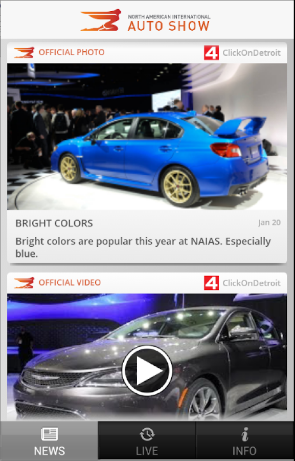 Detroit Auto Show - NAIAS- screenshot