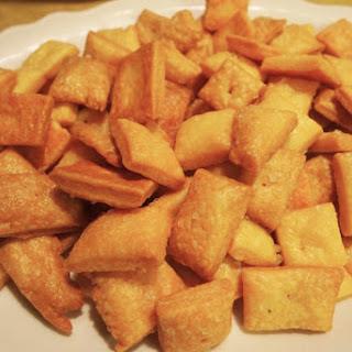 DIY Cheez-It Crackers
