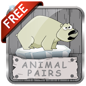 Animal Pairs Card Game
