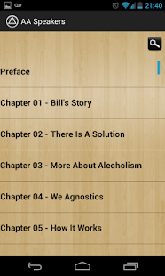 AA Speakers (Alcoholics)- screenshot thumbnail