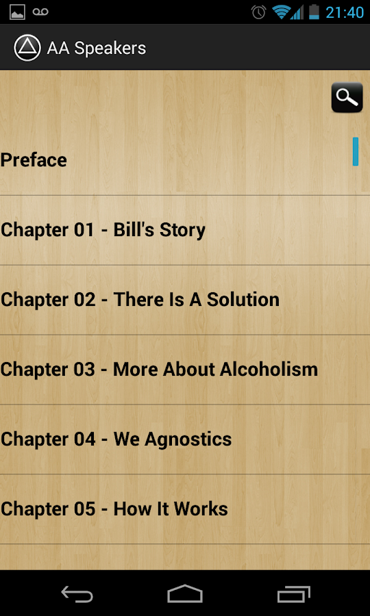 AA Speakers (Alcoholics)- screenshot
