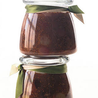 Balsamic Fig Chutney with Roasted Grapes.