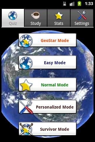 GeoStar - screenshot