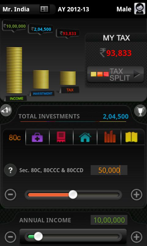 MyTaxIndia - screenshot