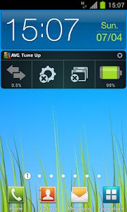 AVG TuneUp 電池和工作管理員