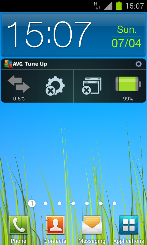 AVG Battery Saver & TuneUp - screenshot