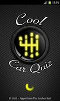 Screenshot of Cool Car Quiz