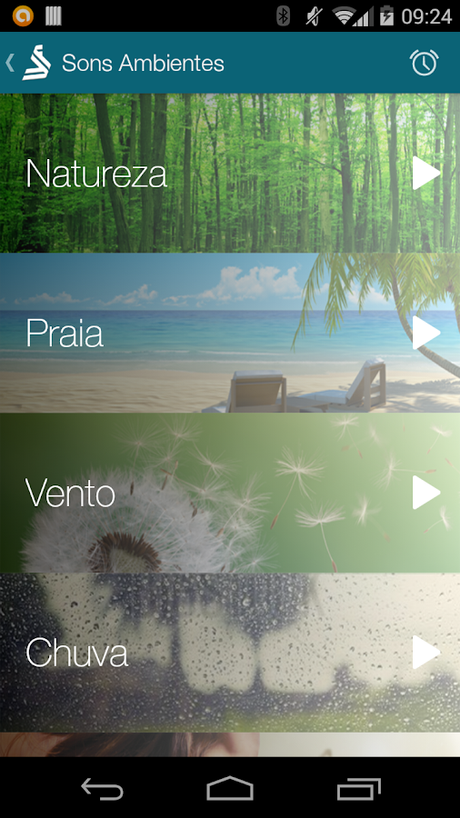 Screenshots of Durma Bem com Santista for iPhone