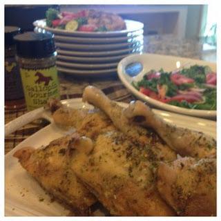 Easiest Baked Chicken Legs