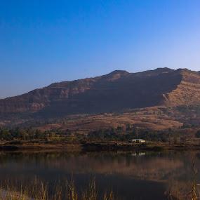 Tikona Base Camp by Rohan Pavgi - Landscapes Mountains & Hills ( india, fort, maharashtra, landscape, tikona )
