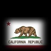 3D California Cube Flag LWP
