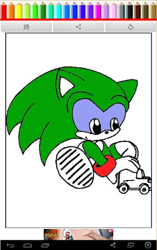 Coloring Book The Sonic