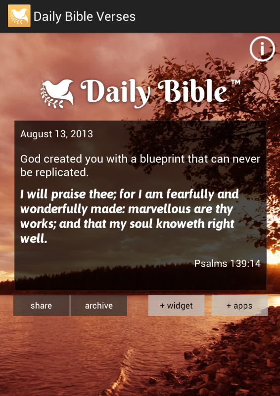 Daily Bible Verses - screenshot