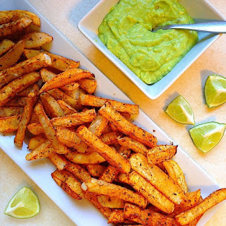 Baked and Spicy Oregano Rutabaga Fries