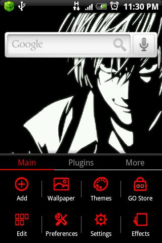 Death note theme FREE Go EX - screenshot