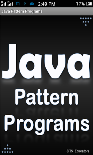 Java Pattern Programs