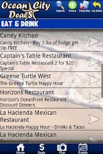 Ocean City Deals- screenshot thumbnail